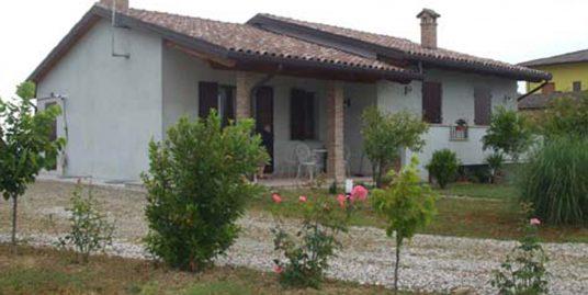 Villa panoramica con giardino