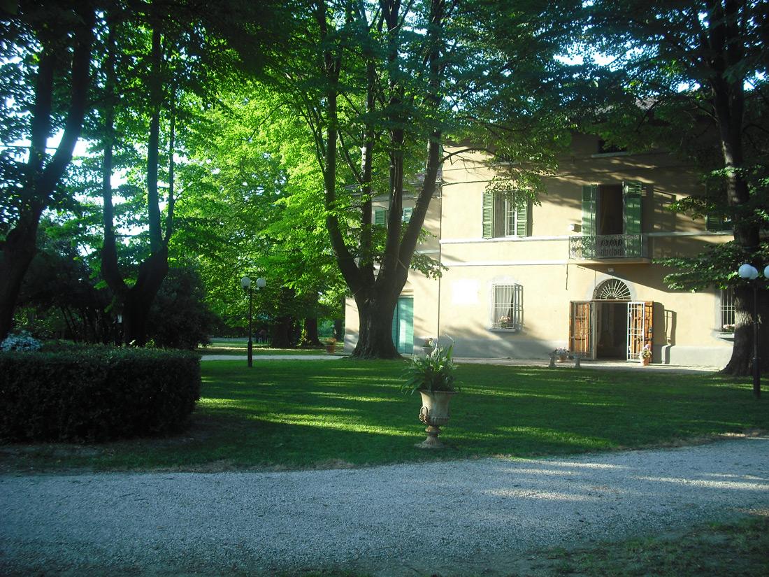 Villa con parco
